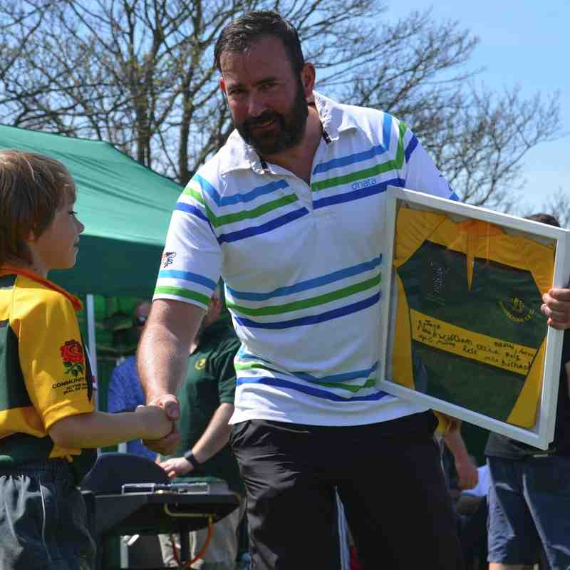 Shoreham RFC Presentation Day Awards - 8/5/16