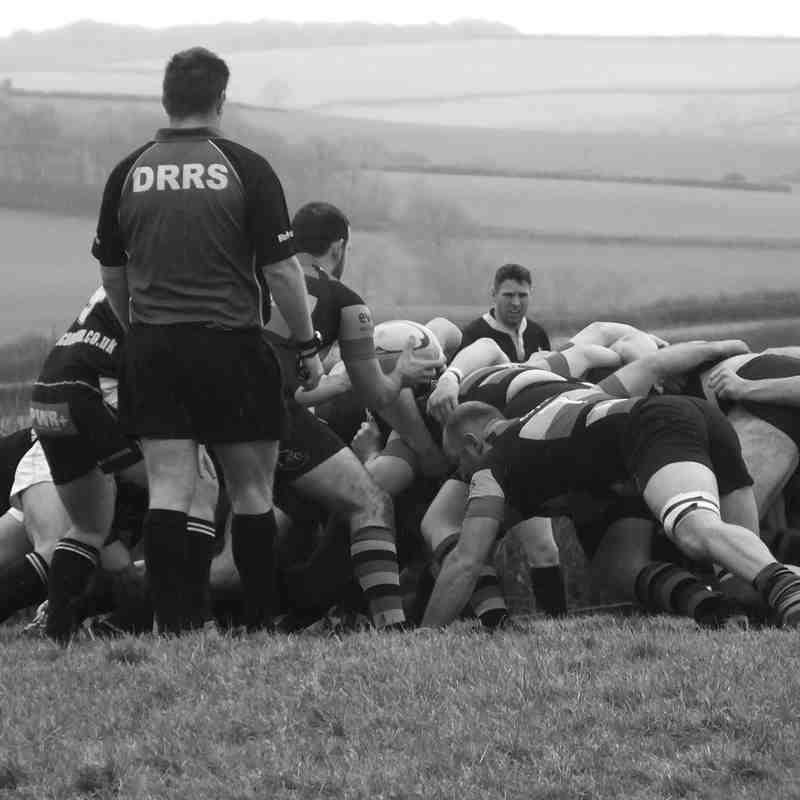 South Molton 1st XV vs Honiton 1st XV 31st Jan 2015