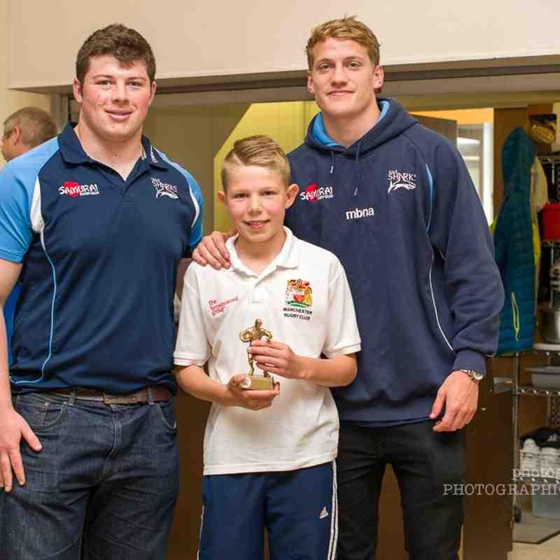 Manchester Rugby Club Presentation U10s