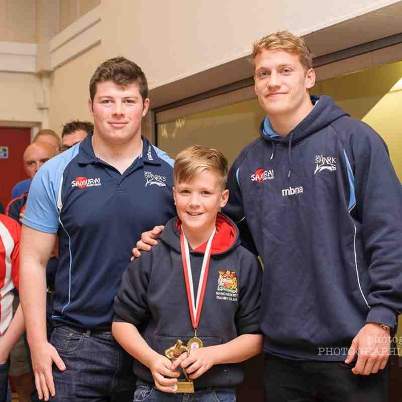 Manchester Rugby Club Presentation U11s, U12s