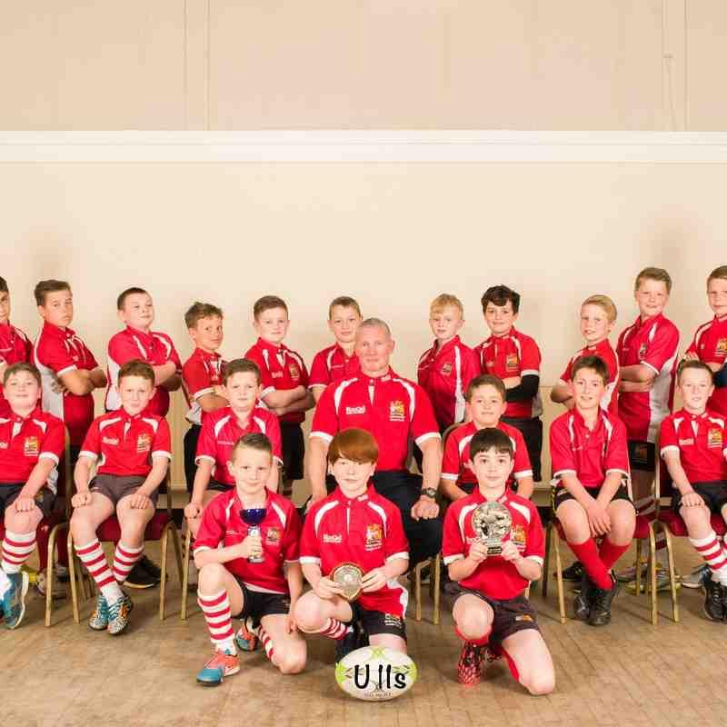 Manchester Rugby Club Team Photo U11s