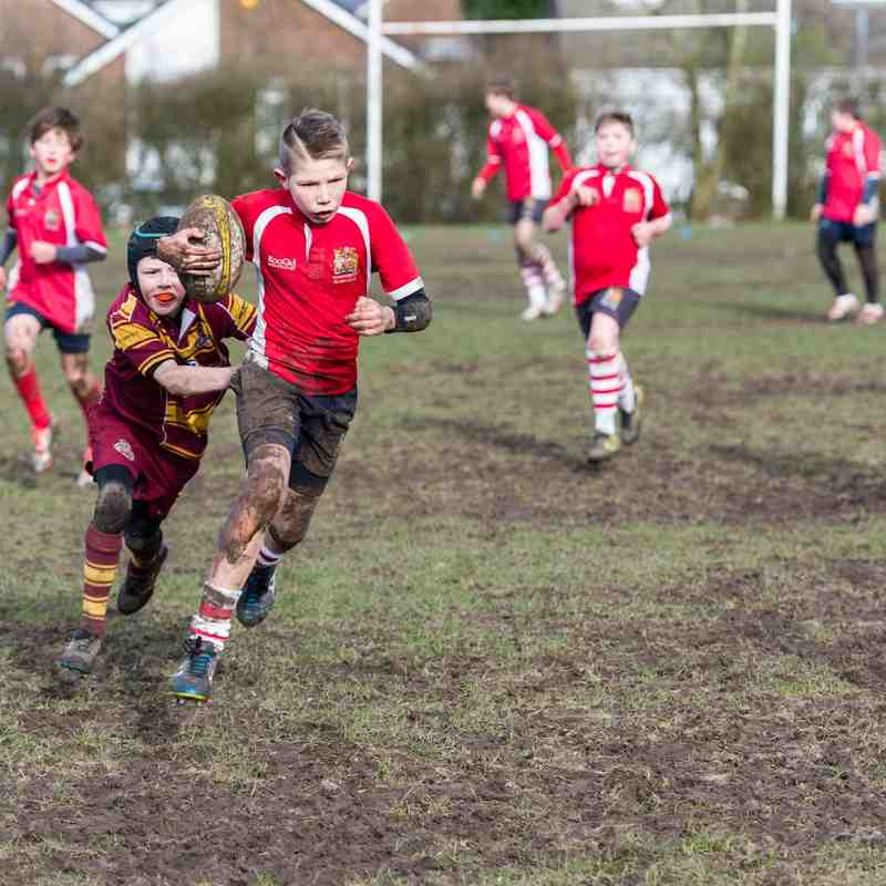 "Manchester Rugby Club U11s V Sedgley Park RFC ""part one"""