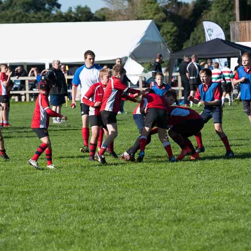 Manchester Rugby U12s at Stockport Festival 2016