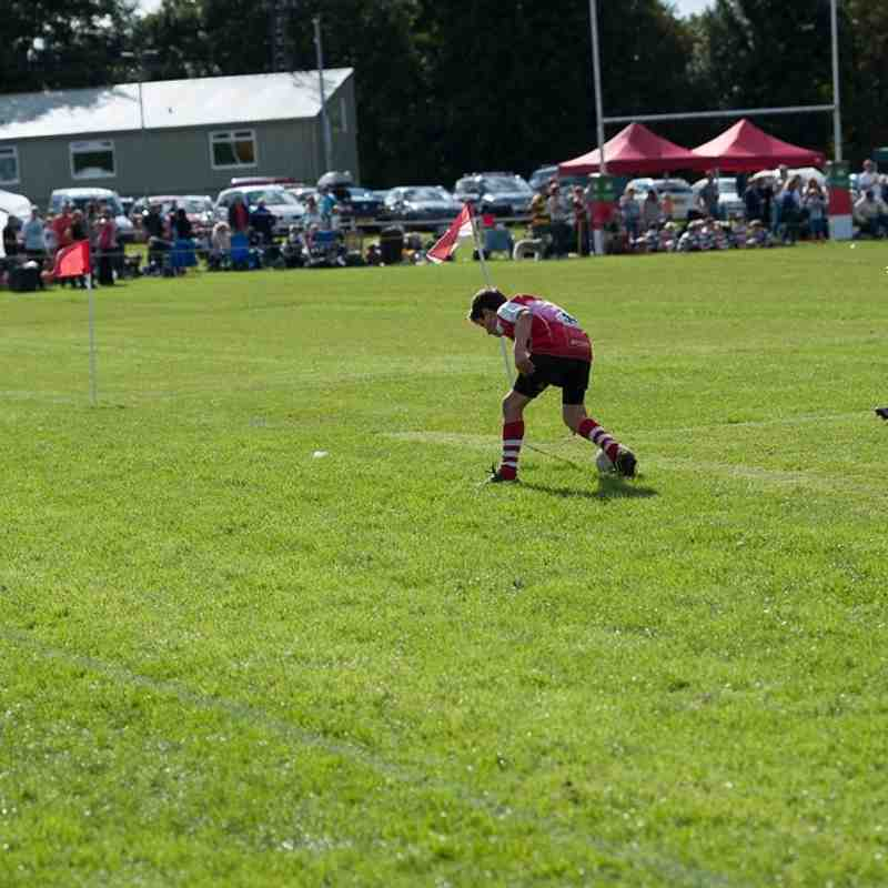 Manchester Rugby U11s at Stockport Festival 2016