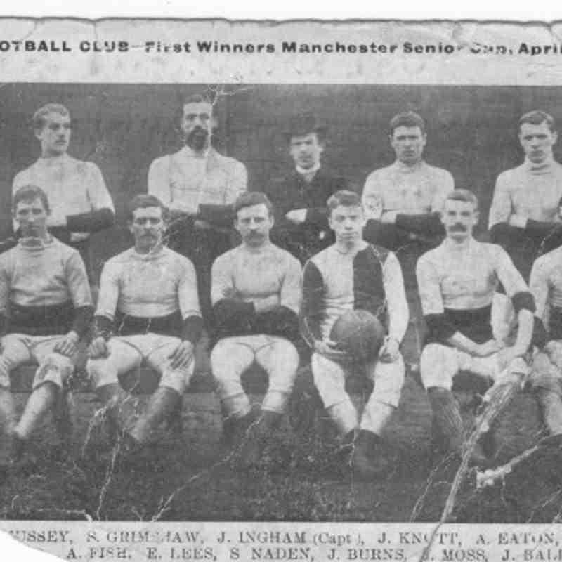 Hurst FC v Newton Heath - Manchester Senior Cup Final Win 1885