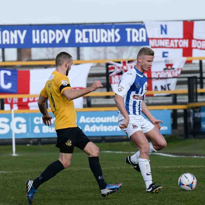 Southport v Nuneaton Town (7.3.15) - By Simon Kimber