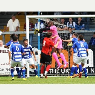 Nuneaton Town 0 Coventry City 0