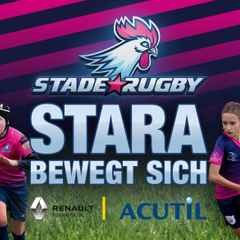 Dr Watson a success story with Stade Rugby Academy (STARA)