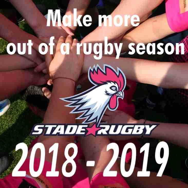 Make more out of this rugby season!
