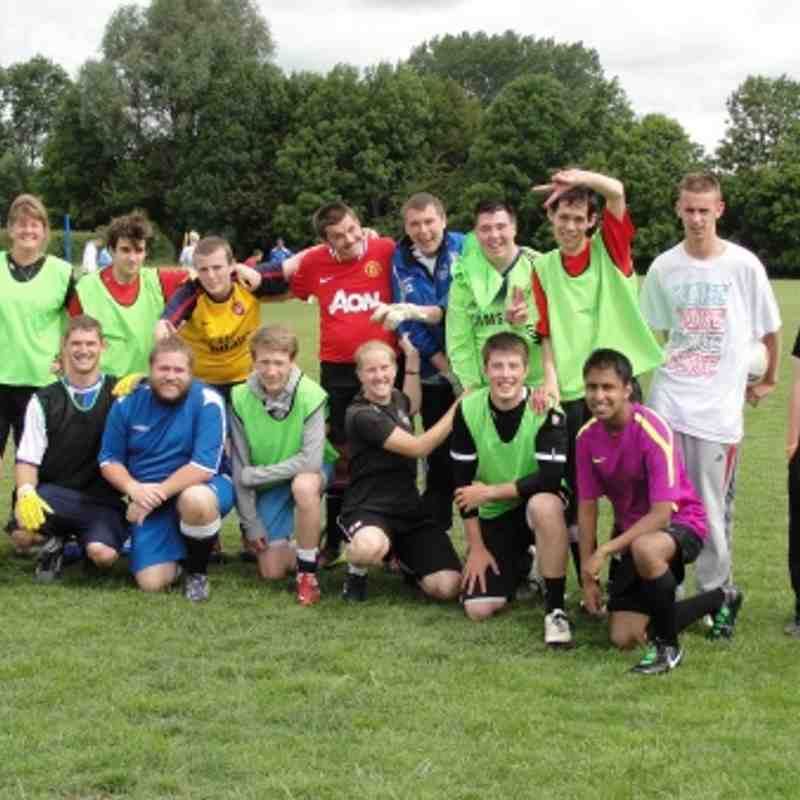 Oxford City Casuals Training Session 19.6.11
