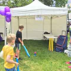 Cricket Comes to the Partick Community Festival