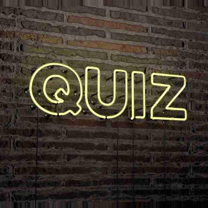 West Quiz Night: Bigger! Better! Quizzier!