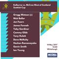 Scottish Cup: McCrea West of Scotland vs. Kelburne