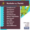 Nunholm vs. Partick