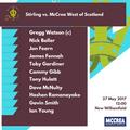 McCrea West of Scotland vs. Stirling County