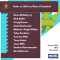McCulloch Twenty20 Cup: McCrea West of Scotland vs. Poloc