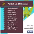 Partick vs. St. Ninians