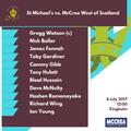 McCrea West of Scotland vs. St Michael's