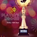 McCrea West of Scotland Player's Dinner