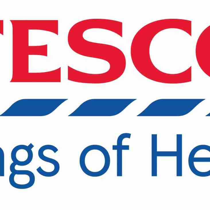 Tesco Bags of Help Project at West
