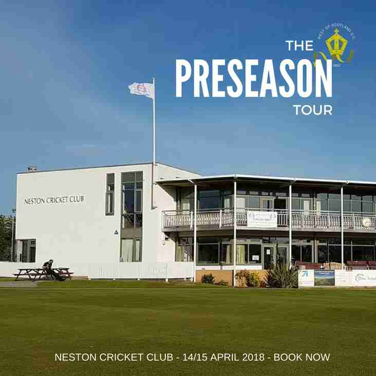 McCrea West of Scotland Preseason Tour Announced