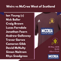 McCulloch Cup T20: Weirs vs McCrea West of Scotland