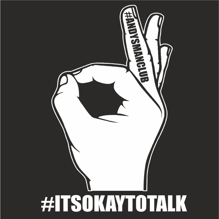 It's OK to Talk: Andy's Man Club Every Monday