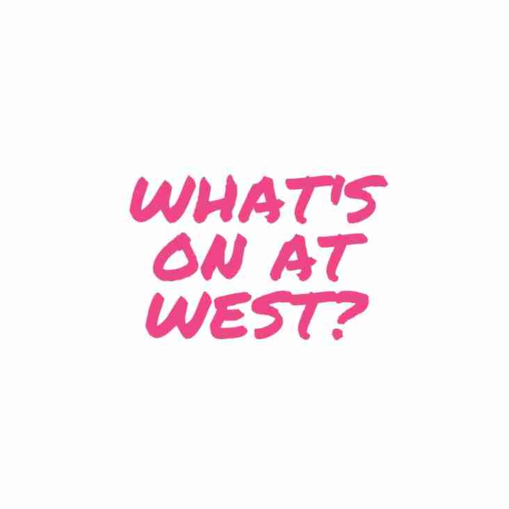 What's On at West: Preseason Edition