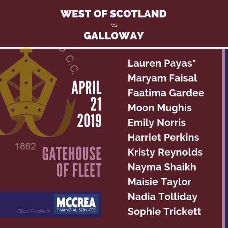 Preseason: West of Scotland vs Galloway