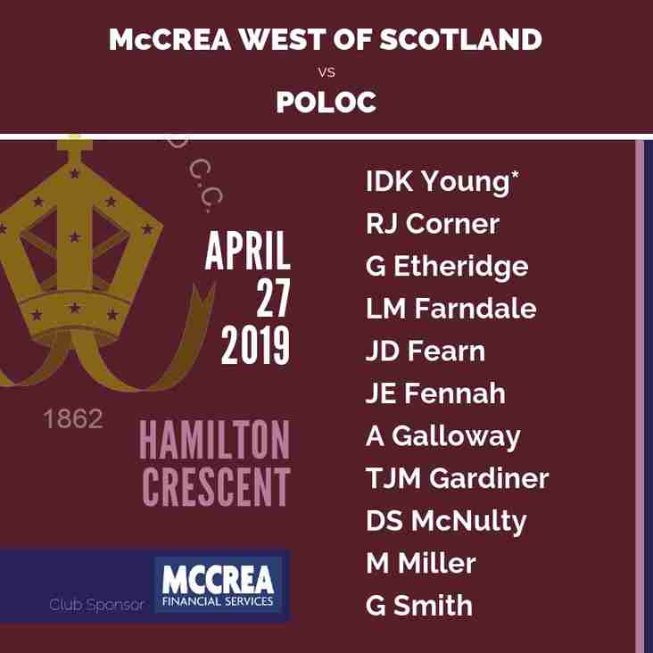 McCrea West of Scotland vs Poloc