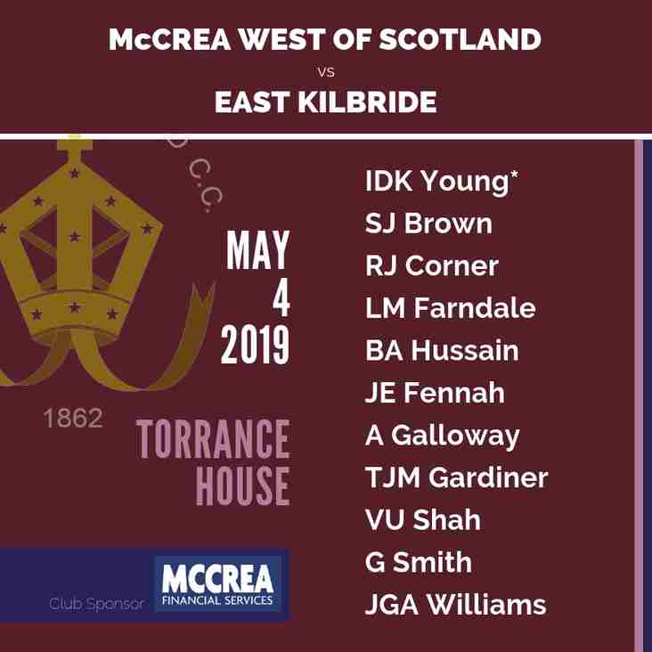 East Kilbride vs McCrea West of Scotland