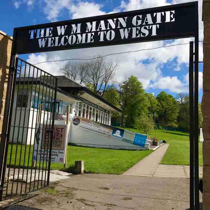 WM Mann Gate: Welcome to West