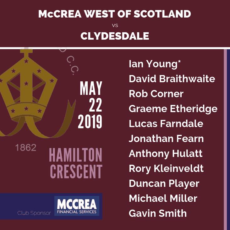 Twenty20 Cricket: McCrea West of Scotland Play Back to Back