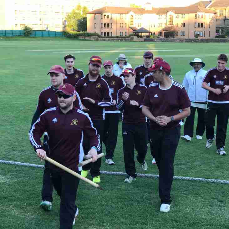 West Defeat Clydesdale in T20 Cup