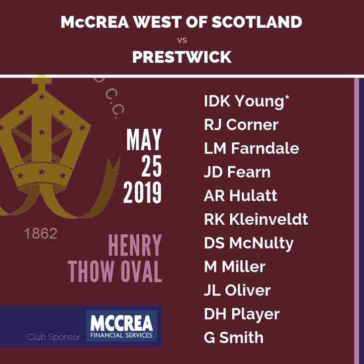 The Battle of 100: Prestwick vs McCrea West of Scotland