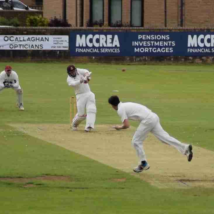 McCrea West of Scotland Suffer First Defeat