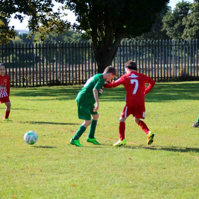Bedworth United Under 10's at Home to Christ the King red 2nd October 2016