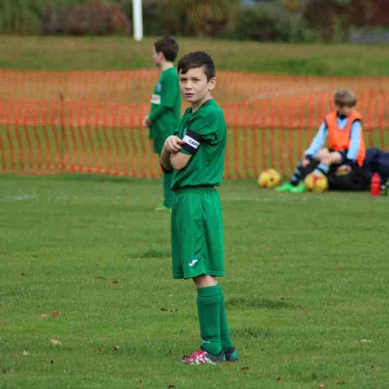 Winter Trophy 2016, Kenilworth Wardens vs Bedworth Utd Under 10 Juniors, 6th November 2016