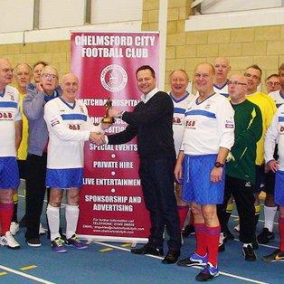 Chelmsford City Walking Football over 50's Tournament Thursday 26th February