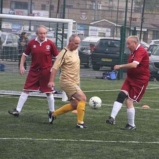 First Walking Football League Tournament