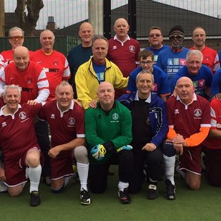 Walking Football v WF event at East Ham