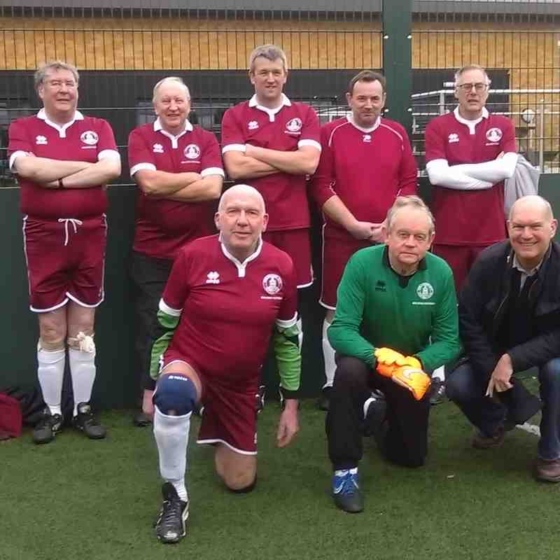 Walking Football v Romford TRA - 21st February 2016