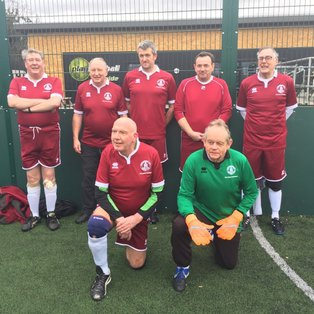 Romford TRA Walking Football Tournament
