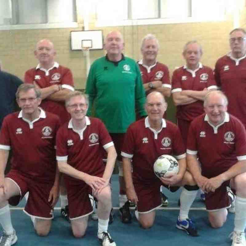 Walking Football v Southend & Walton-on-the-Naze 60+ - 8th May 2016