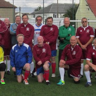 Walking Football Tournament at Little Oakley