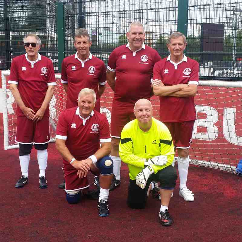 Walking Football v National League Trust - Sun 14 Aug 2016