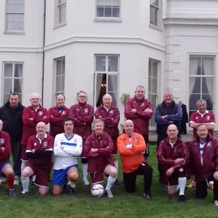 Walking Football v Age uk Over 55 Open Day Hylands House
