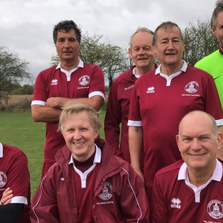 Walking Football v Essex League 60+ at Little Oakley