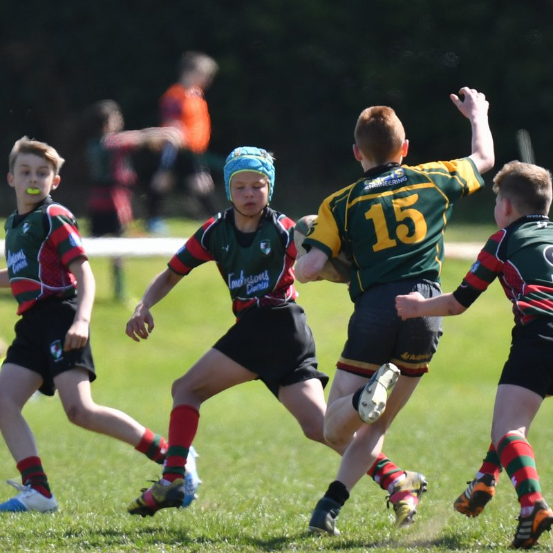 Wrexham U11's at the Anglo-Welsh 23/04/2017