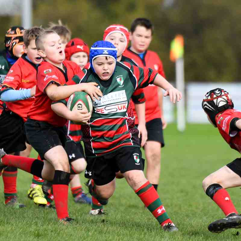 Denbigh U12's (5-48) Wrexham U12's  - 29.10.2017
